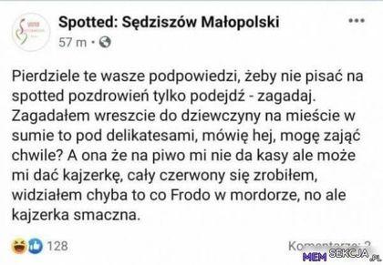 Spotted sędziszów małopolski