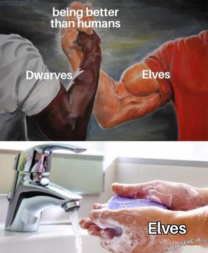 Elfy są najpotężniejsze