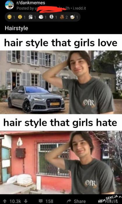 Którą fryzurę wolą dziewczyny?