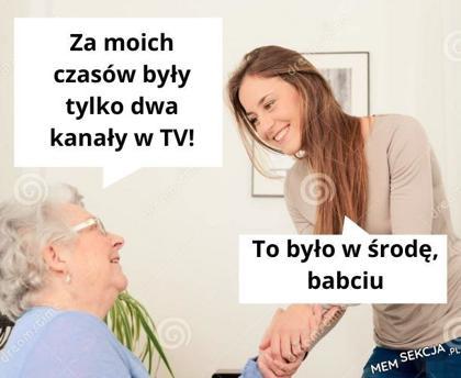 Tylko dwa kanały w TV