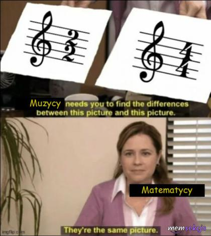 Muzycy vs Matematycy