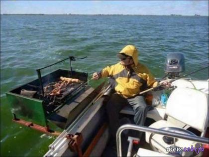 Grill na rybach