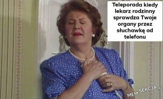 Teleporada w Polsce