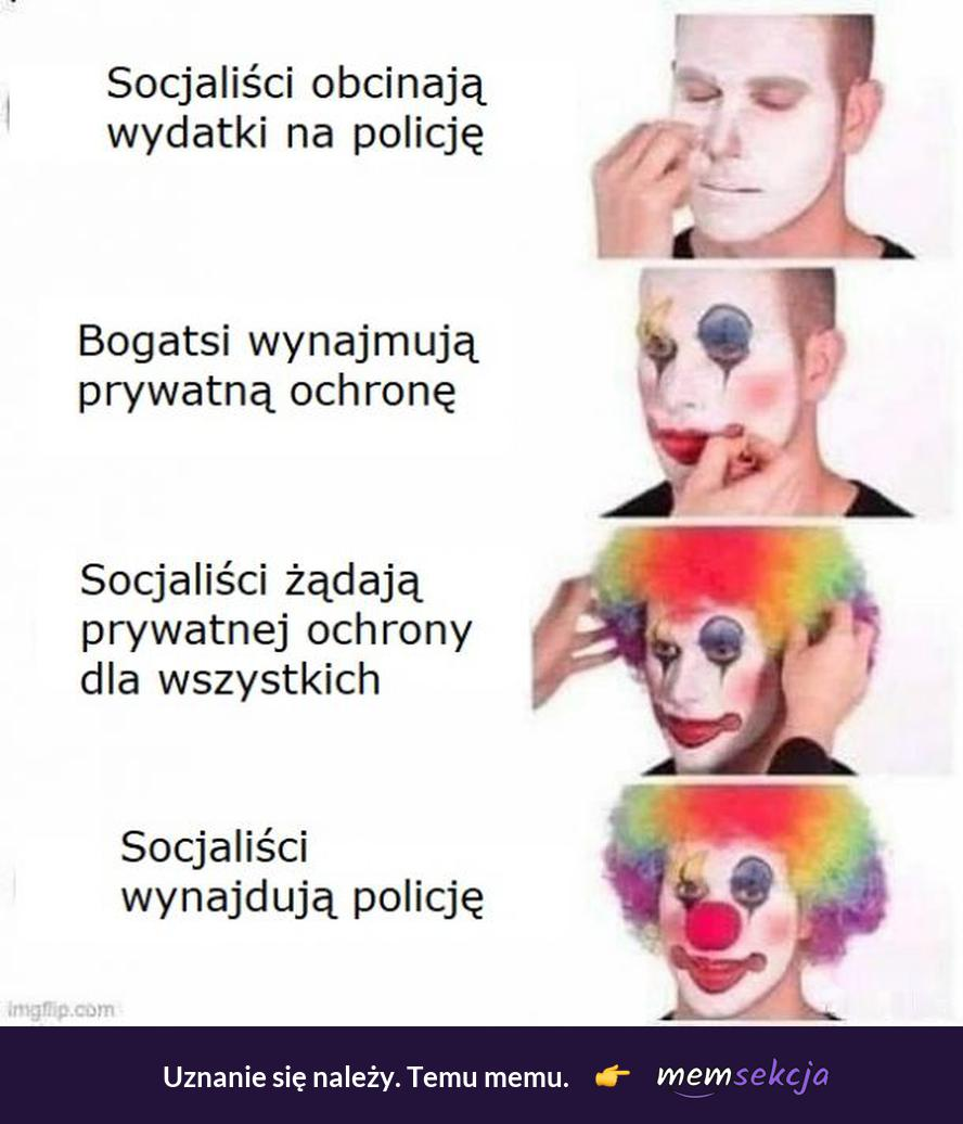 Jak socjaliści wynajdują policję
