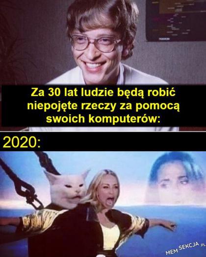 Przepowiednia Billa Gates'a