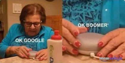 Ok Google, ok boomer