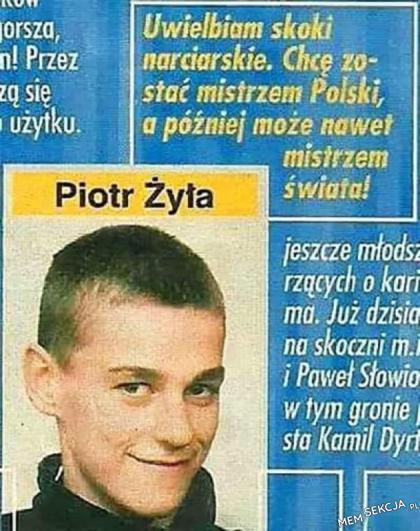 Marzenie Piotrka Żyły się spełniło. Sport. Piotr  Żyła. Skoki  Narciarskie. Marzenia