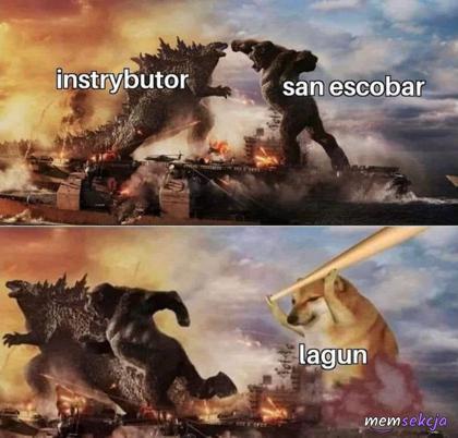 Instrybutor, San Escobra i Lagun