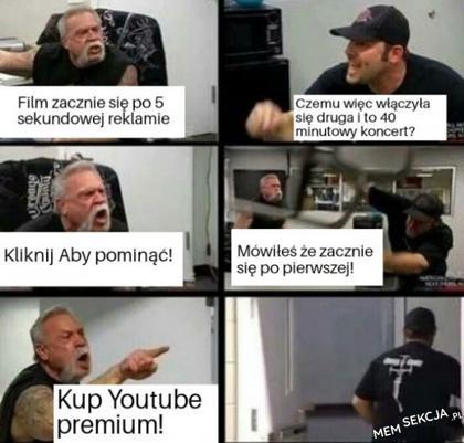Moje przejścia. Youtube