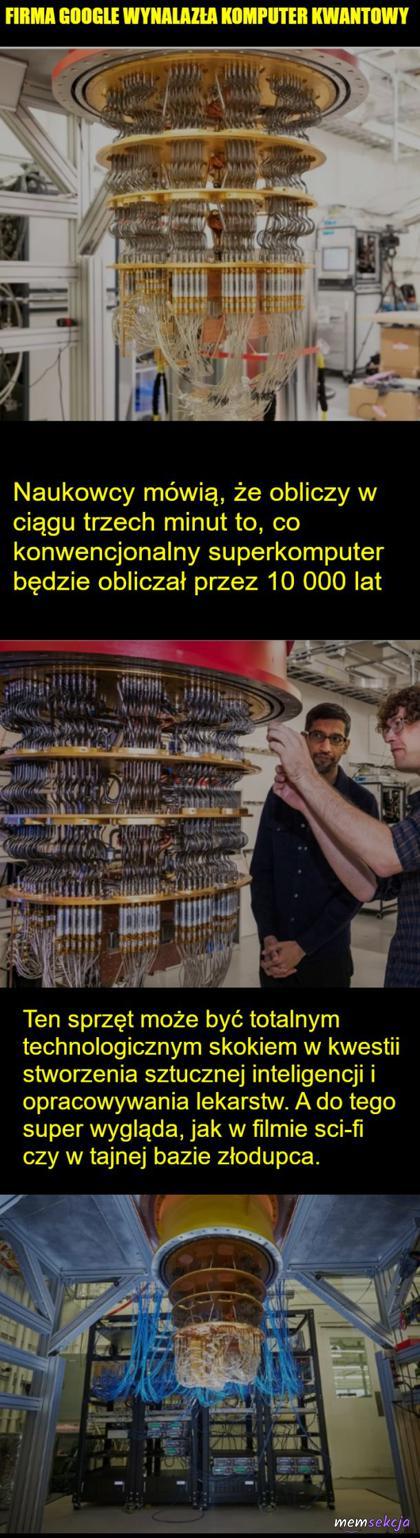 Komputer kwantowy google