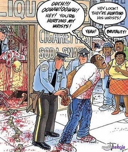 Brutalność policji w USA nie zna granic
