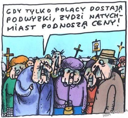 Gdy tylko Polacy dostają podwyżki...