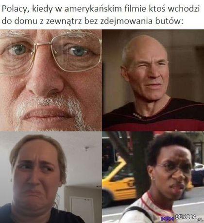Polacy, kiedy w amerykańskim filmie ktoś wchodzi