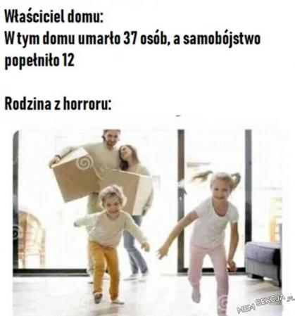 Typowa rodzina z horroru