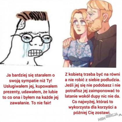 Incel vs ziomek