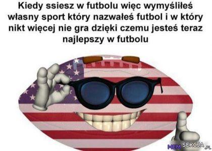 Kiedy ssiesz w futbolu. Sport. Usa. Football. Futbol  Amerykański
