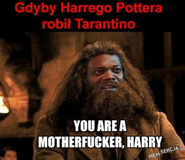 Gdyby Harry potter został nakręcony przez tarantino