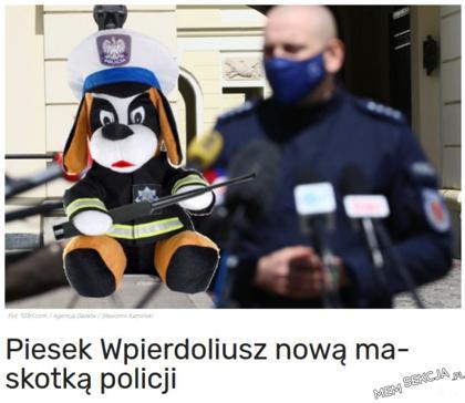 Najnowsza maskotka
