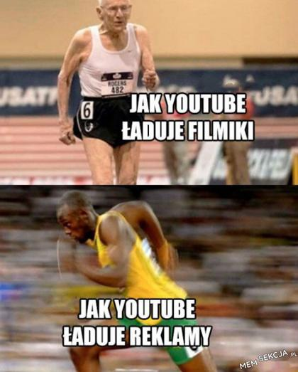 Filmiki vs reklamy. Memy