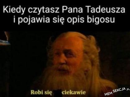 Opis bigosu w Panu Tadeuszu