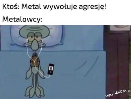 Metal wywołuje agresję