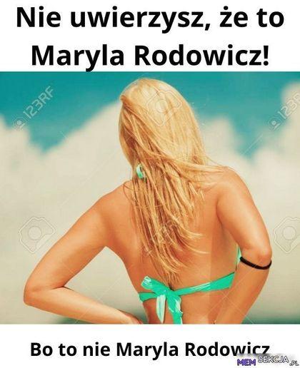 Nie uwierzysz, że to Maryla Rodowicz!