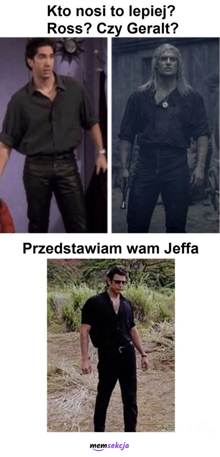 Ross vs Geralt vs Jeff. Wiedźmin