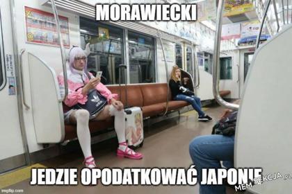 Morawiecki jedzie podatkowa Japonię
