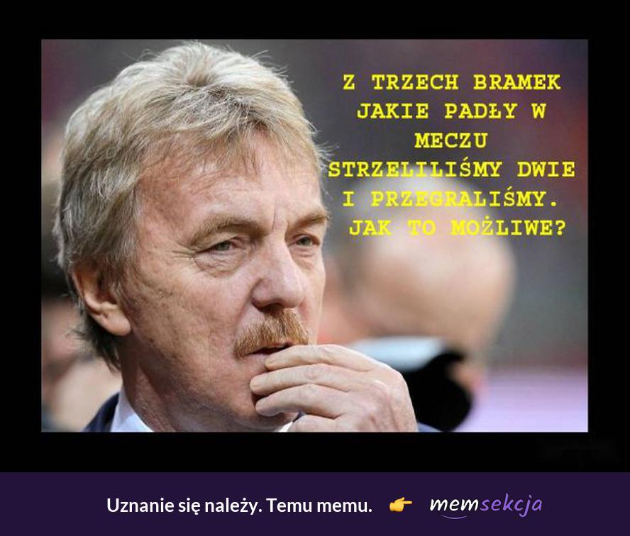 Matematyka Polskiej reprezentacji. Memy. Reprezentacja. Zbigniew  Boniek