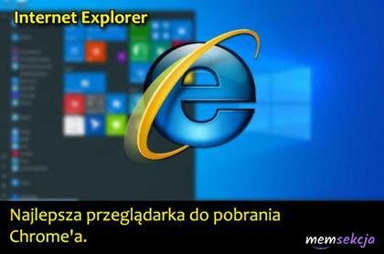 Recenzja Internet Explorer