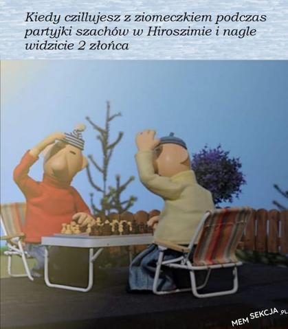 Partyjka szachów w Hiroszimie