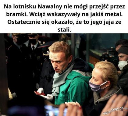 Na lotnisku Nawalny nie mógł przejść przez bramki. Wiemy już dlaczego