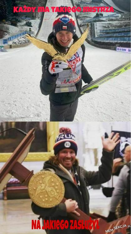 Nasz mistrz Kamil Stoch. Sport