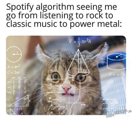 Algorytm Spotify nie potrafi mnie zrozumieć