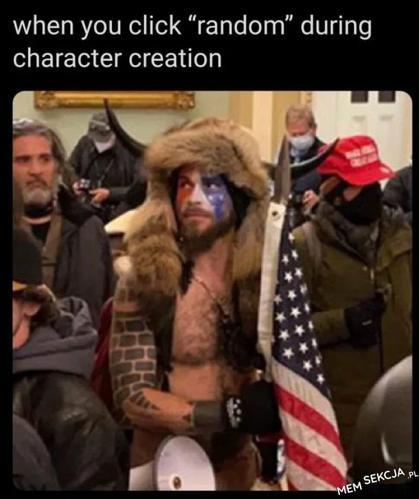 Losowy wiking z ameryki. Memy