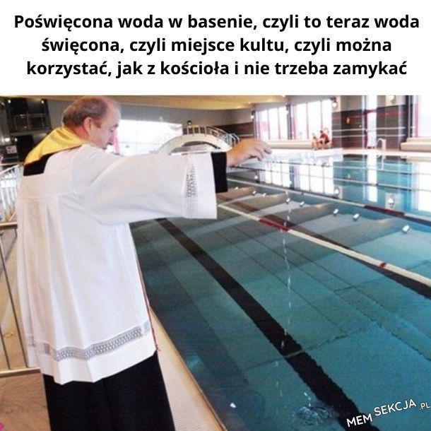 Korona sceptycy poświęcą całą polskę