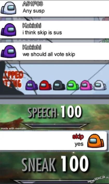 We should all vote skip