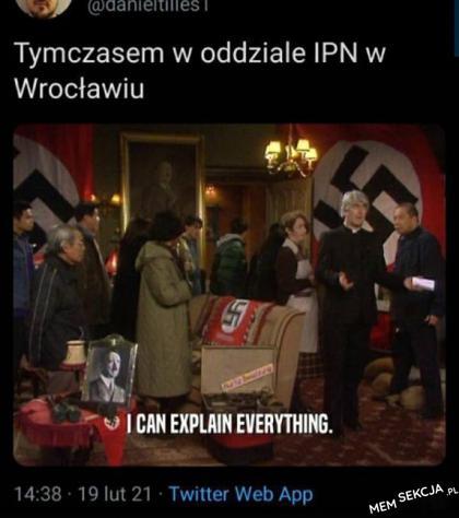 Tymczasem w oddziale IPN we Wrocławiu