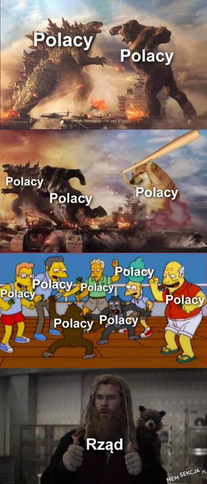 Kiedy Polacy się ze sobą biją