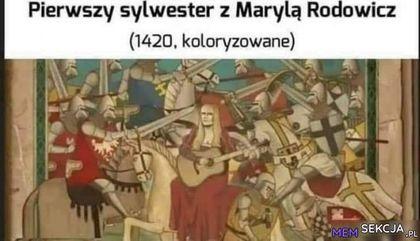 Pierwszy sylwester z Marylą Rodowicz