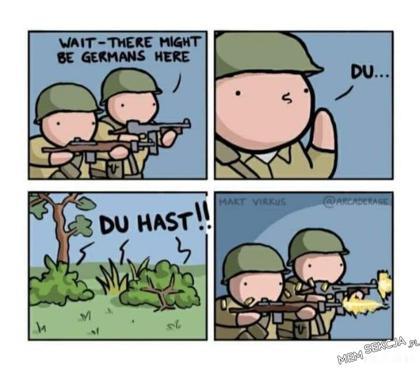 DU HAST