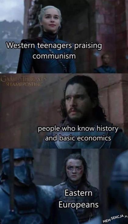 Kiedy ktoś z zachodu pochwala komunizm
