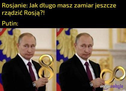 Putin kontroluje nieskończoność