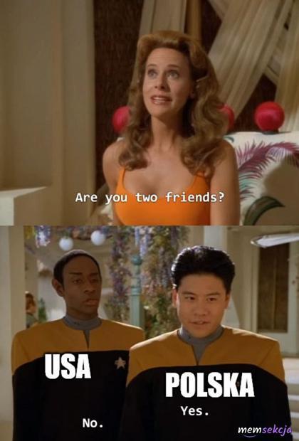 Jesteście przyjaciółmi?