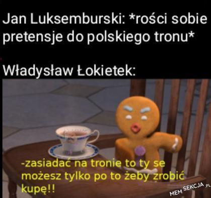 Jan Luksemburski kontra Władysław Łokietek