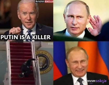 Putin to morderca