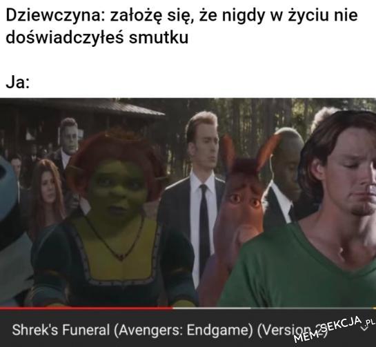 Czy ty w ogóle wiesze co to smutek?