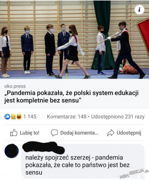 Cała Polska jest bez sensu