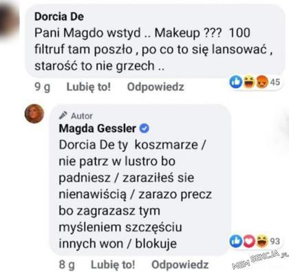 Magda Gessler rzuca zaklęcie