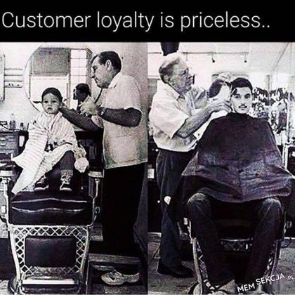 Lojalność klienta jest bezcenna